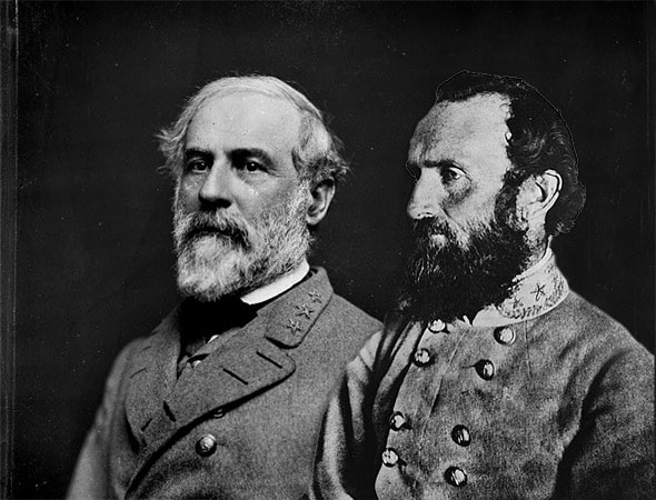 Gen. Lee and Gen. Jackson