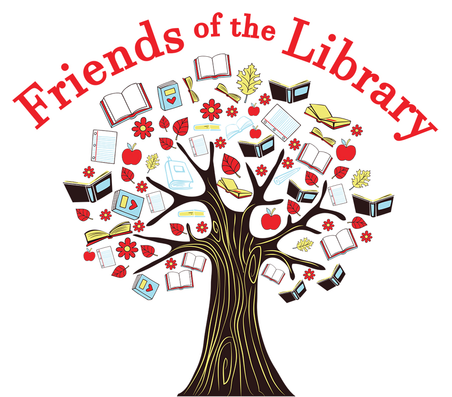 Friends of the library-book tree