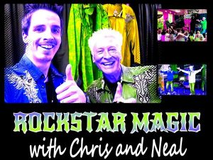 Rockstar Magic with Chris & Neal @ Madison Heights Library